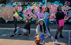 Zuri Sculpts active and stylish leggings. Wear leggings from the gym to the street.