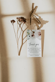 ROBYN | Dusty Rose Bohemian Gift Tag Template