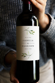 Isabella Wine Label