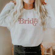 Retro 70's Blush Bride Sweatshirt