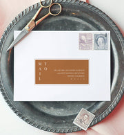 Mia Envelope Addressing
