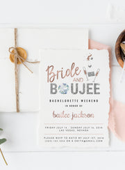 Genna - Bride and Boujee Invitation