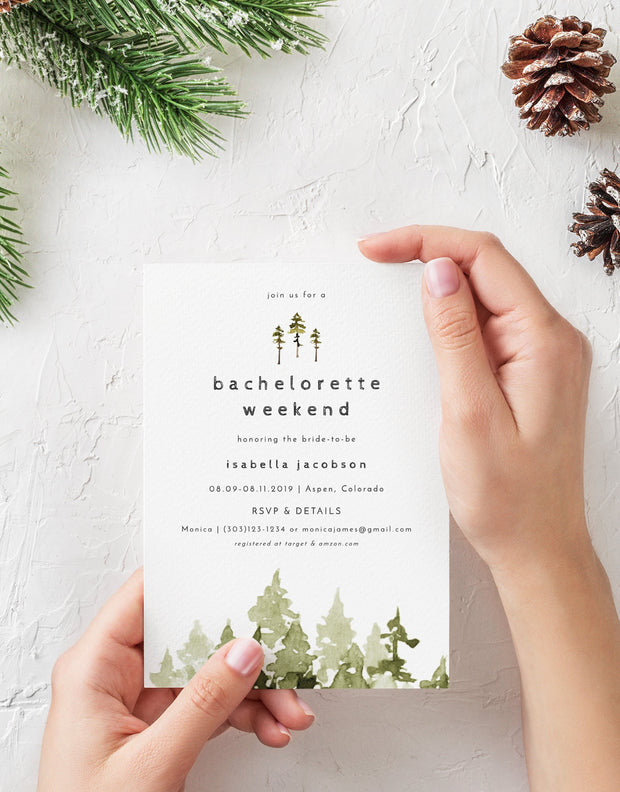 Jenna Bachelorette Invitation