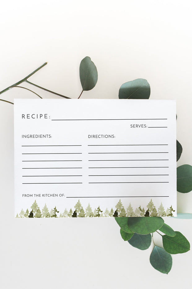 Jenna Recipe Card