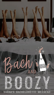 Genna - Rose Gold Bach and Boozie Bachelorette Snapchat Filter Template - Unmeasured Events