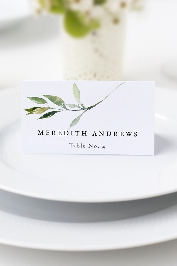 Isabella Place Card
