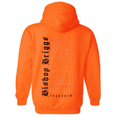 CHURCH OF SCARS TOUR ORANGE HOODIE