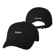 Higher Black Dad Hat