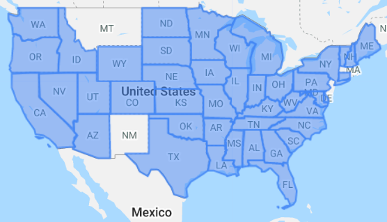 Non-restricted states