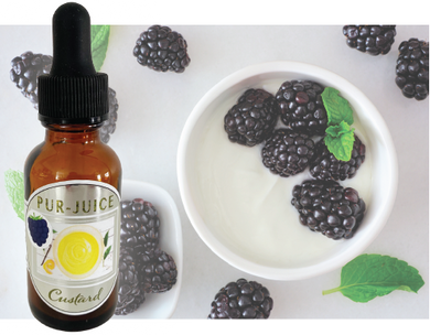Blackberry Custard Flavor Ban Kit - Pur-Juice
