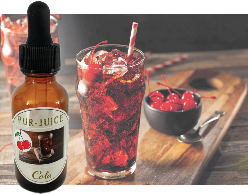 Cherry Cola Flavor Ban Kit - Pur-Juice