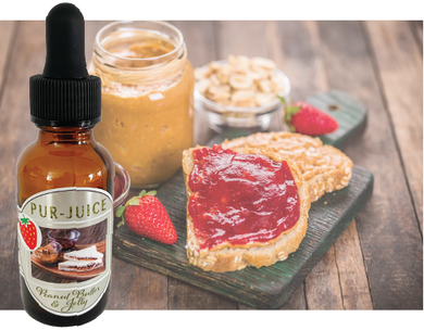 Peanut Butter and Strawberry Jam Flavor Ban Kit - Pur-Juice