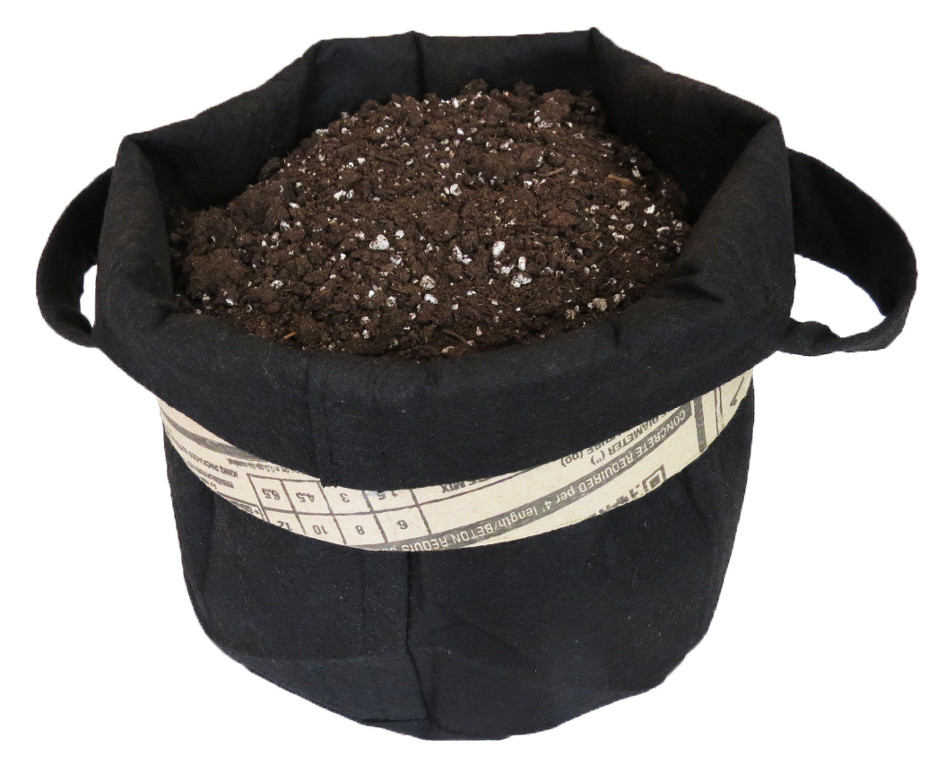 Grow Bag (comes filled with grow medium & precise nutrients)