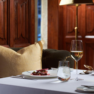 Michelin Star Dinner for Two in The Oak Room Restaurant with Wine Pairing