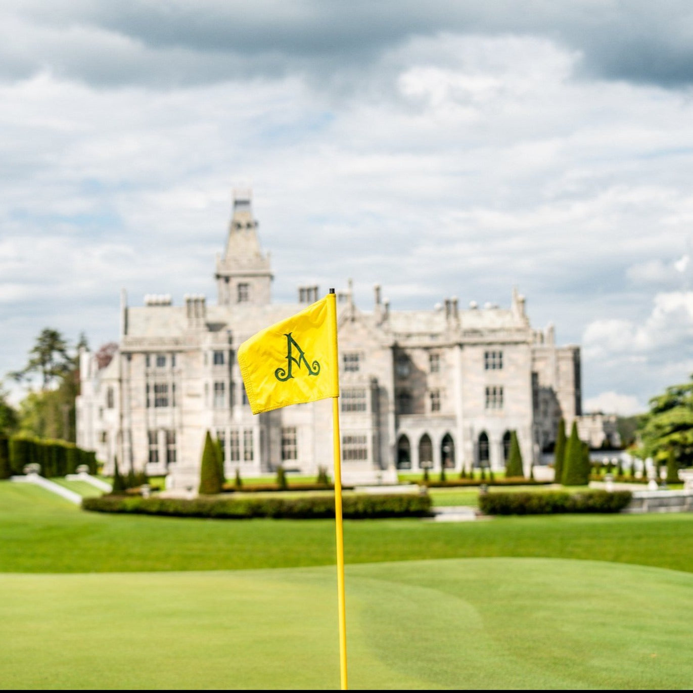 Adare Manor Pin Flag
