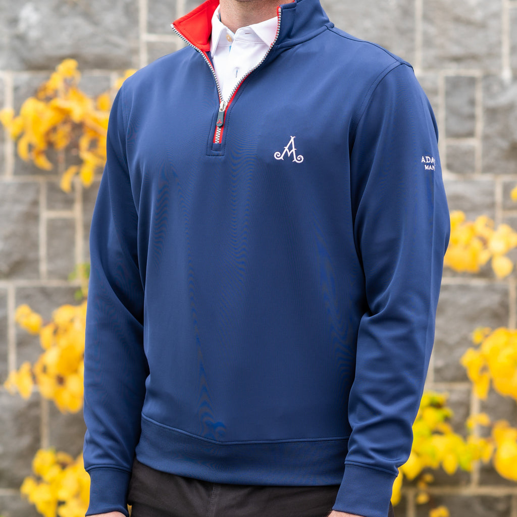 Adare Manor Bespoke ¼ Zip Sweater - Team USA