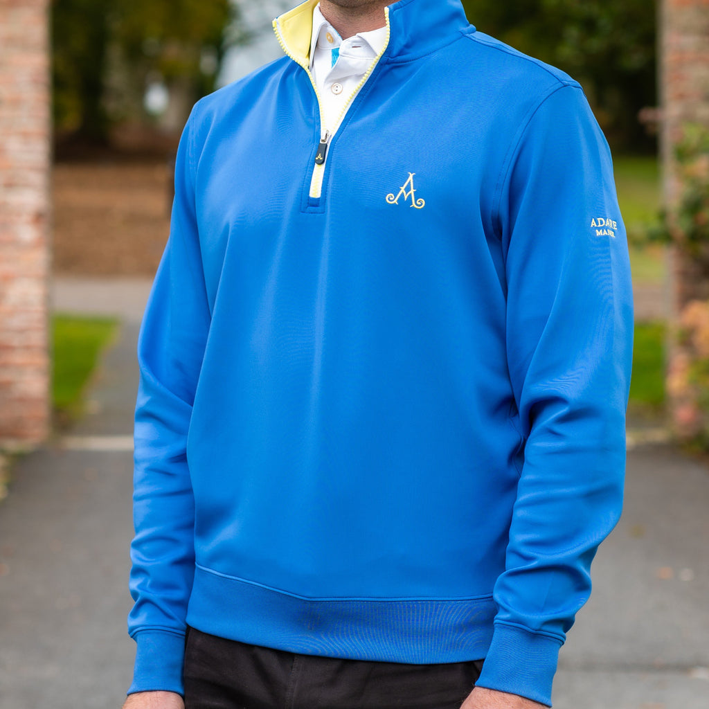 Adare Manor Bespoke ¼ Zip Sweater - Team Europe
