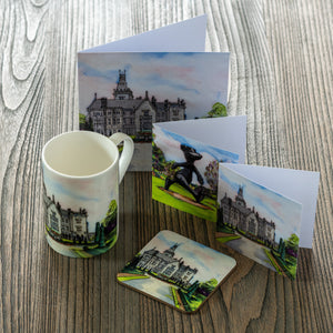 Illustrated Coasters , Cups and Cards