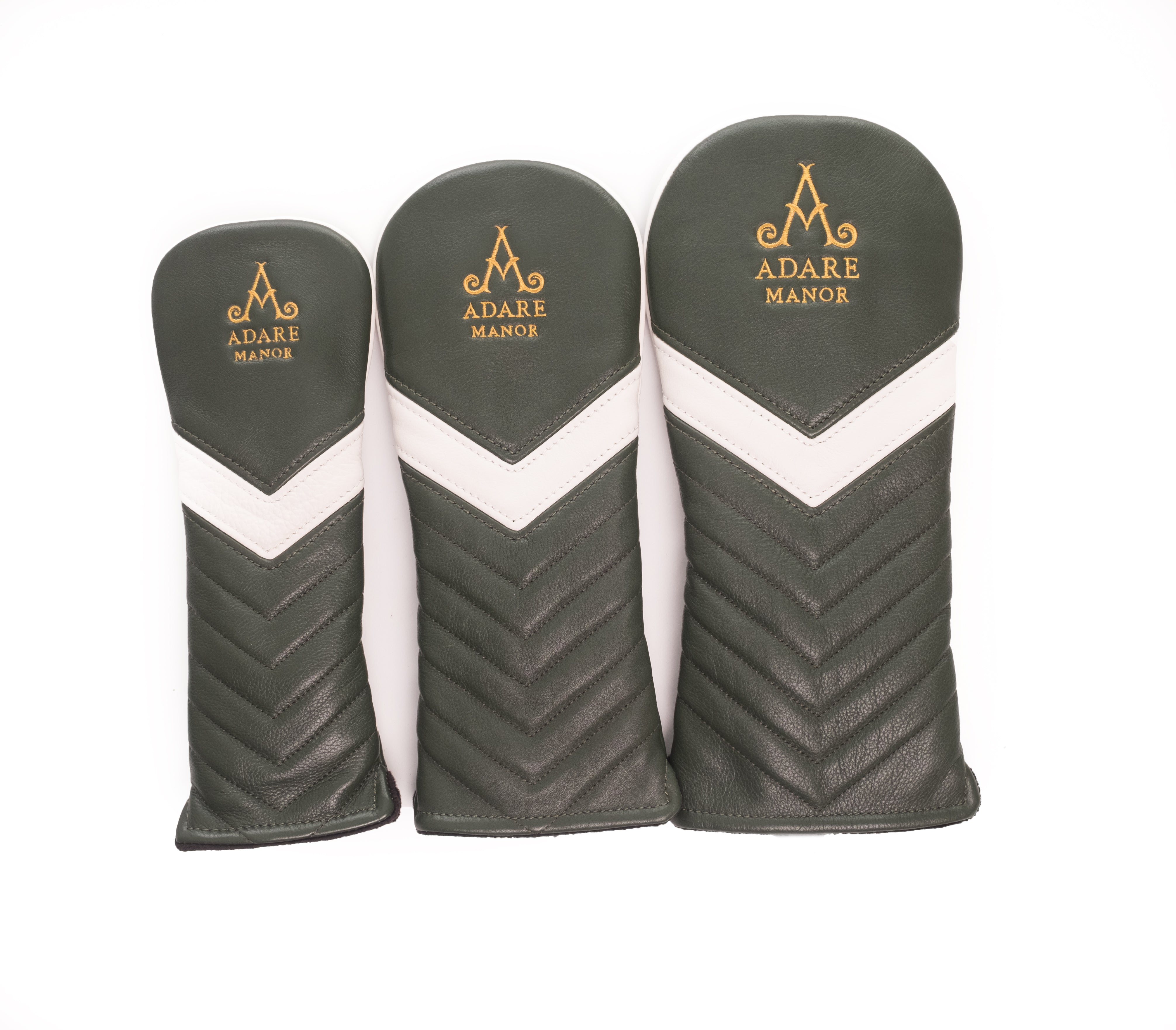 Adare Manor Bespoke Leather Headcovers