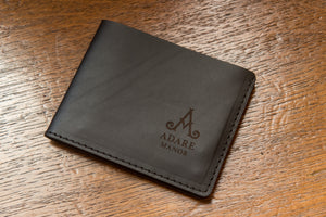CarveOn Leather Adare Manor Branded Traditional Wallet