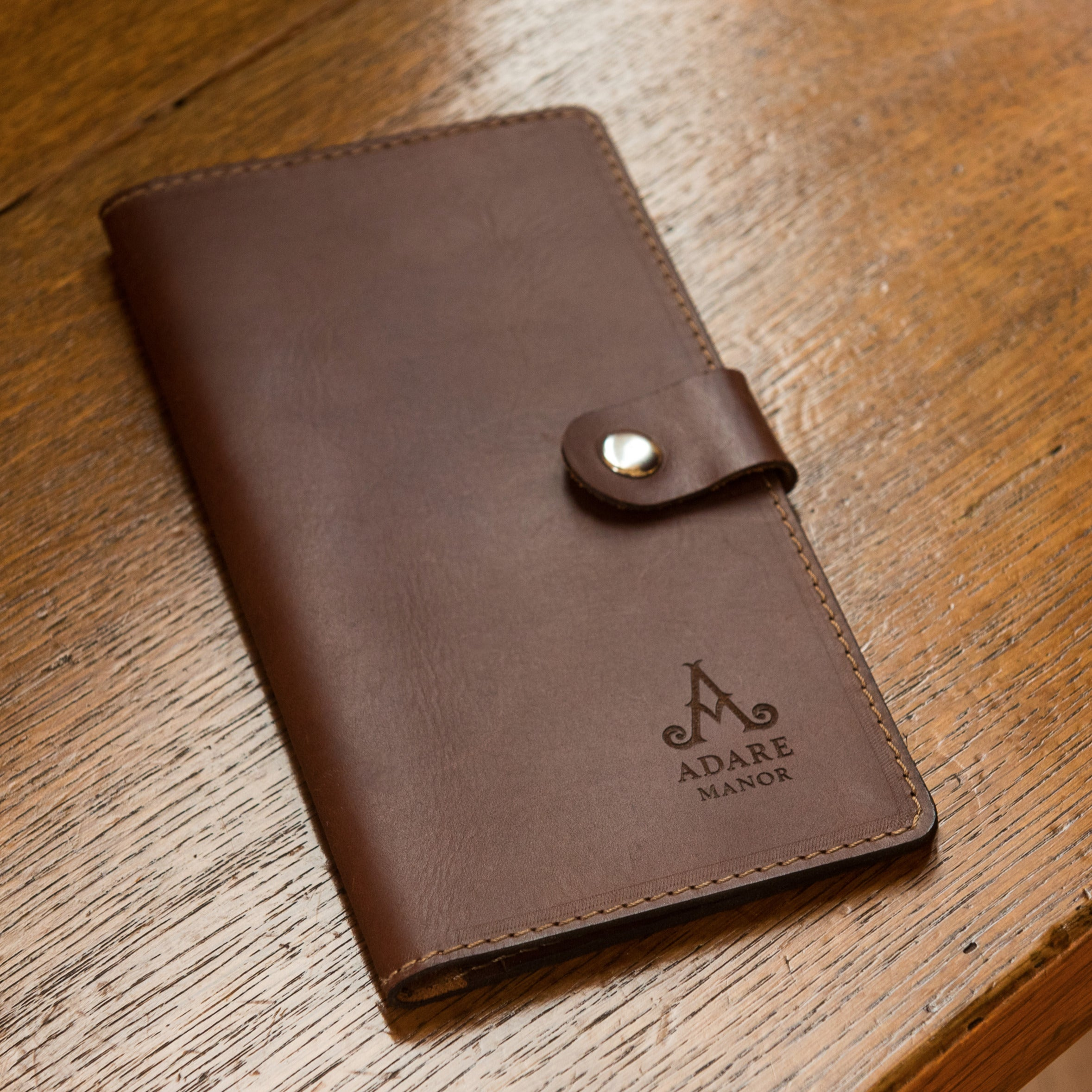 CarveOn Leather Adare Manor Branded Travel Wallet