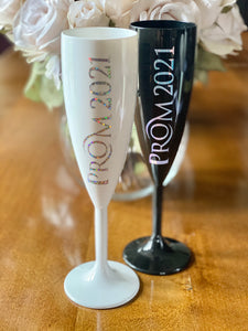 Champagne Flutes, Prom 2021 / 2022