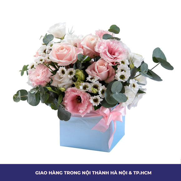Hộp Hoa Gỗ Have A Sweet Day