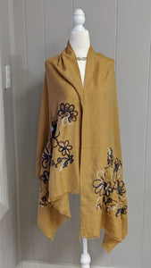 Embroidery Scarf/Shawl