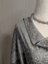 Load image into Gallery viewer, Gray Pashmina Scarf/Shawl