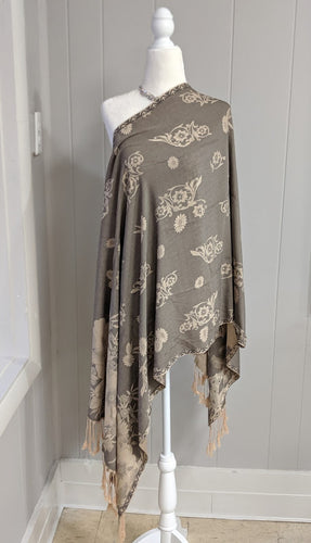 Reversible Scarf/Shawl