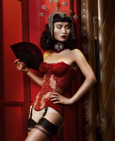 Sappho Cupped Corset