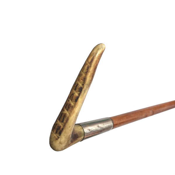 Vintage Riding Crop with bone handle