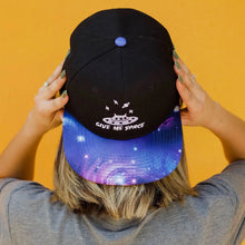 Load image into Gallery viewer, Give Me Space Galaxy Snapback Adult Hat