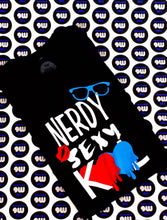 Load image into Gallery viewer, Nerd Sexy Kool Black Tee