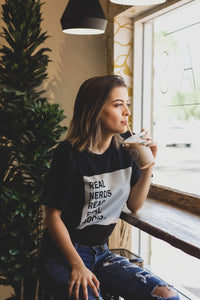 Real Nerds Read Real Books Tee