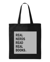 Load image into Gallery viewer, Real Nerds Book Tote