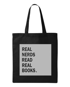 Real Nerds Book Tote