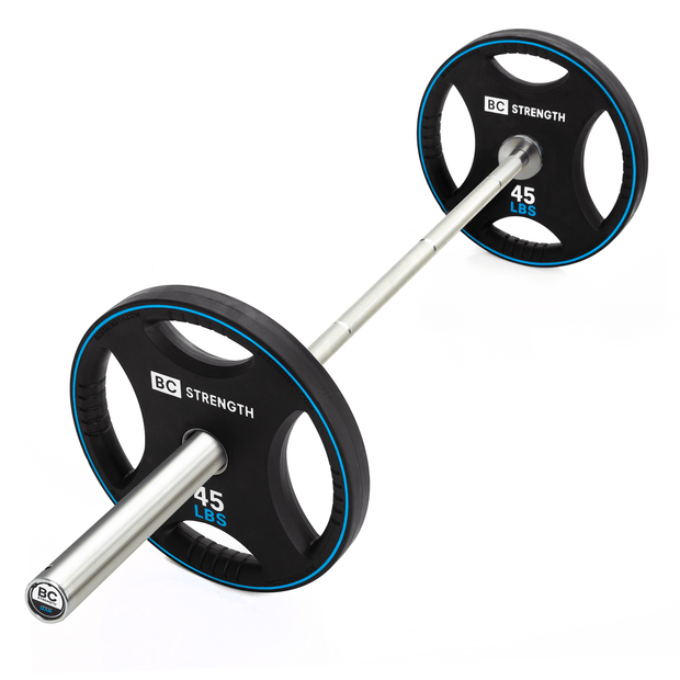 Thruster Bar + 45lb Weight Plates