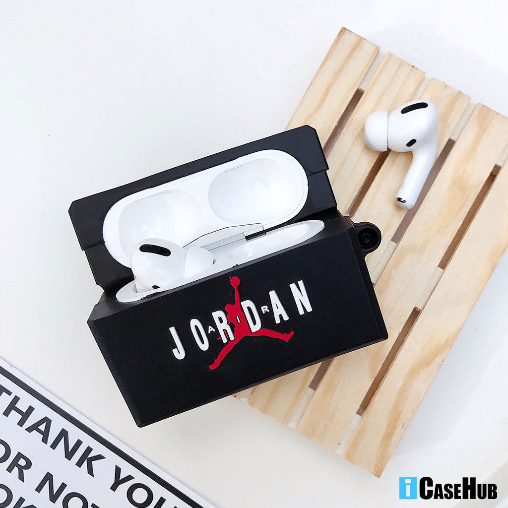 New Nike Air Jordan Shoes Box Airpods Pro Case Shockproof Perfect Cover Key Chain Hypeicase Inc