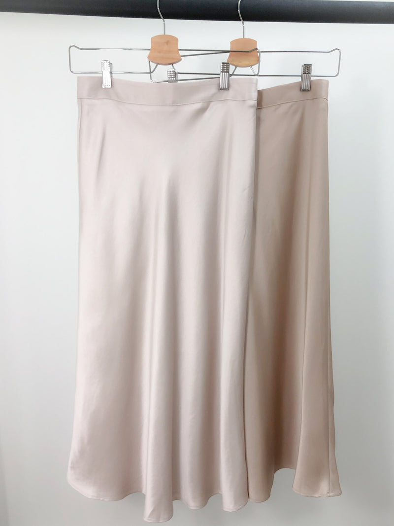 Satin Effect Skirt