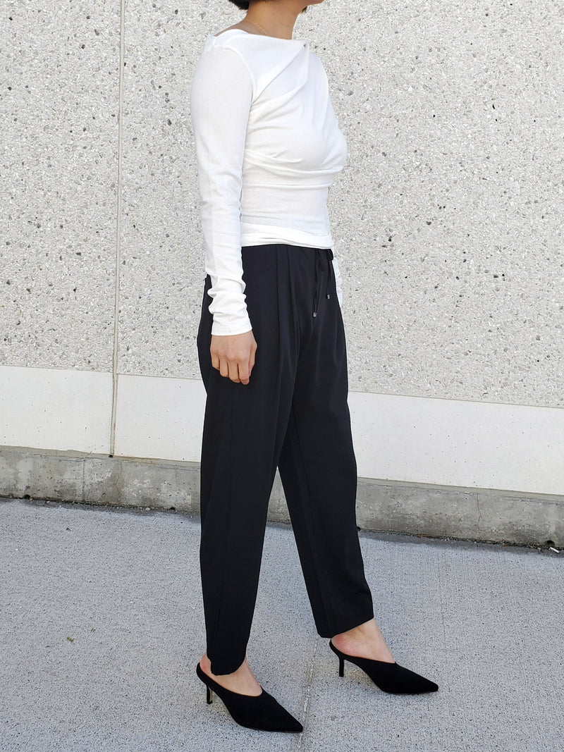 Slouchy Tied Pants