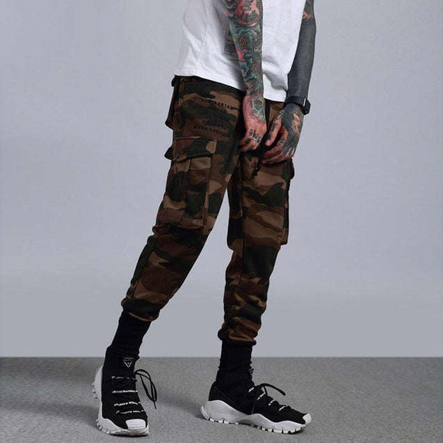 Casual Camouflage Pattern men's Pants