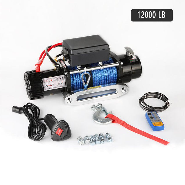 12000 lb Electric Recovery Winch