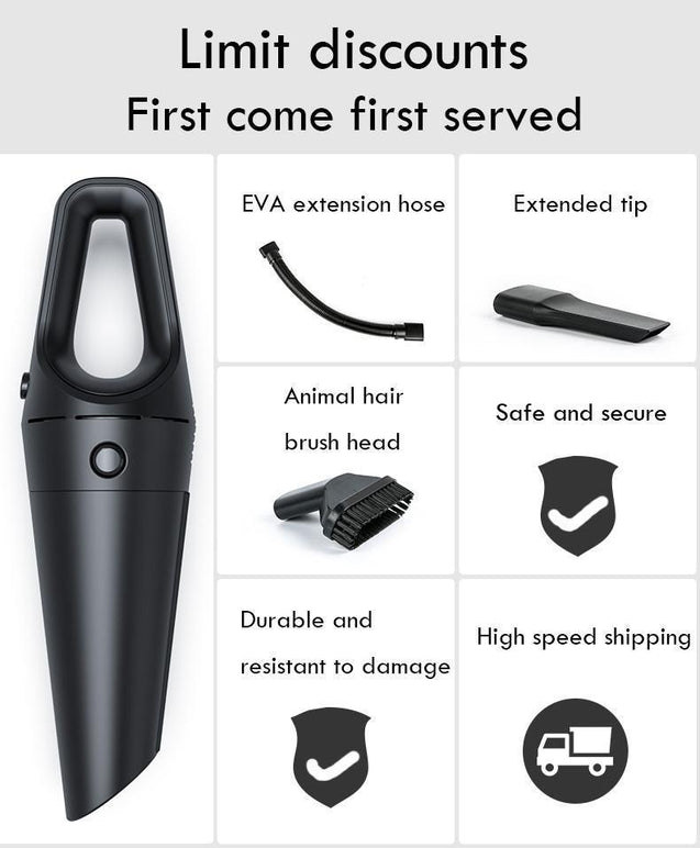 Car Vacuum Cleaner with Strong Suction Power