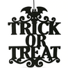 Halloween decoration hanging door