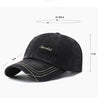 Men's Solid Color Embroidered Duck Hat