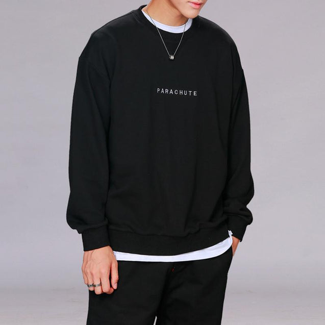 Casual Round Neck Cotton Long Sleeve T-Shirt