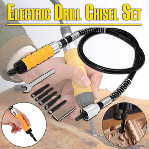 Electric Drill Chisel Set