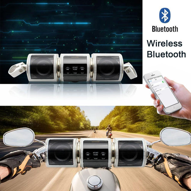 Motorcycle Waterproof Bluetooth Speaker