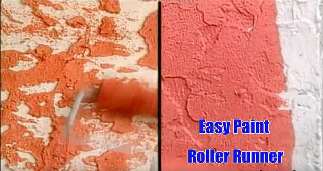 Easy Paint Roller Runner